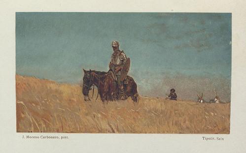 022-El Ingenioso Hidalgo Don Quijote de la Mancha-1905- José Moreno Carbonero