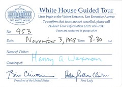 The golden ticket to the White House.