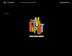 THE FIVE SPOT LOGO (typographyshop) Tags: philadelphia advertising design marketing graphicdesign thefivespot patrickking thekinggroup