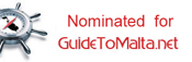 Nominated for Guide To Malta