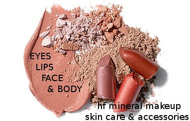 100% pure hf mineral makeup