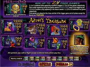 aztec's treasure free game