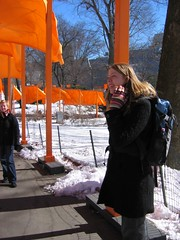 IMG_0026 (DutchAstrid) Tags: new york nyc newyorkcity orange newyork art gates centralpark saffron christo gatesmemory