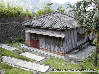 Holiday villa for the Japanese prince last time