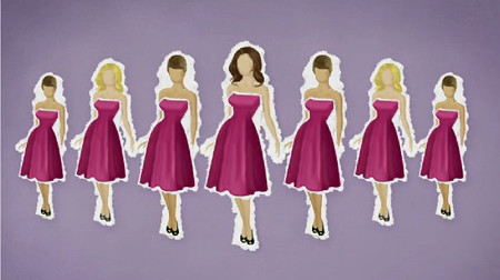 in The Bridesmaid Guide from The Dessy Group and blog
