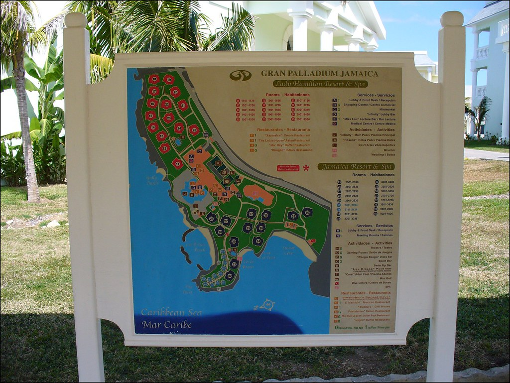 Grand Palladium Jamaica Site Map