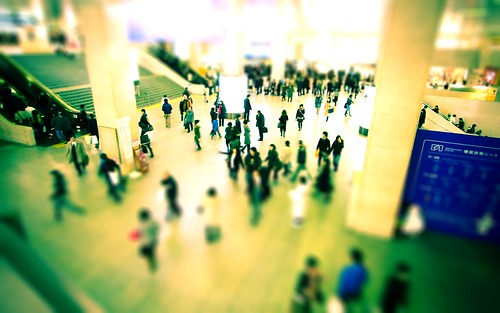 9960 : Umeda Tilt Shift Making