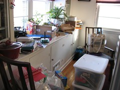 Flylady Zone 1: Dining Room BEFORE