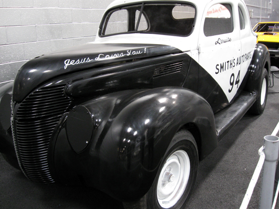 Louise Smith's 1938 Ford (Click to enlarge)
