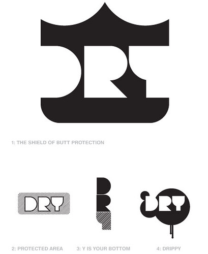 Dry Diapers   Logo Concepts