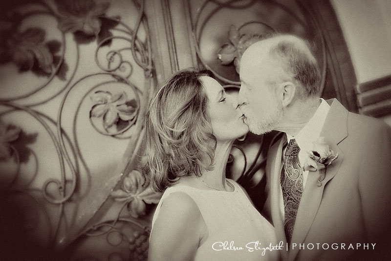 Wedding Photographer Malibu Adamson House Kissing
