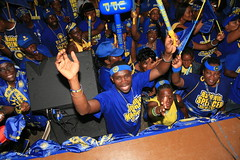 UPP Zone 2 Big Blue Wave Rally & Whistle Stop (uppantigua) Tags: election rally antigua 2009 upp whistlestop antiguabarbuda bigbluewave unitedprogressiveparty