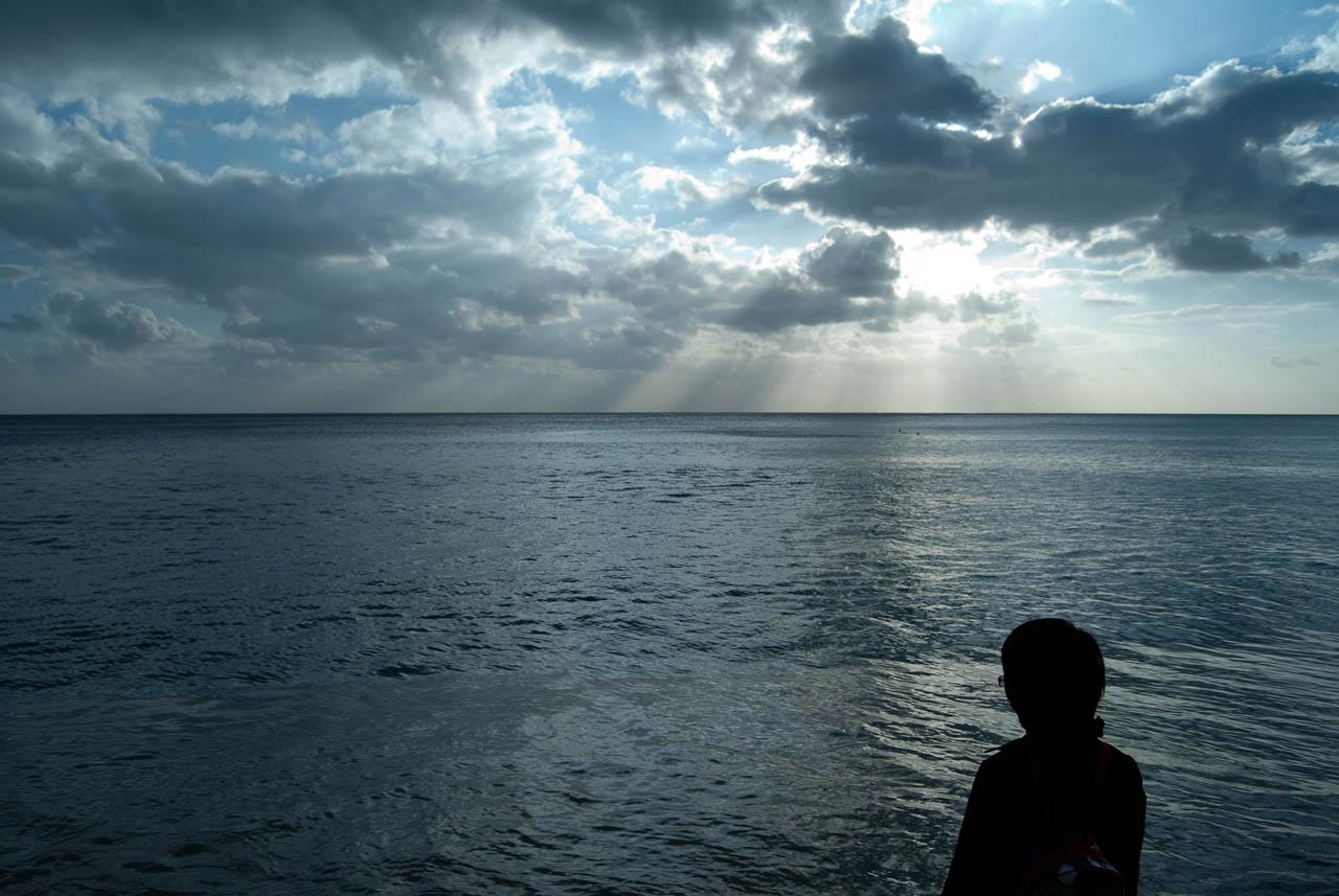 整片的大海