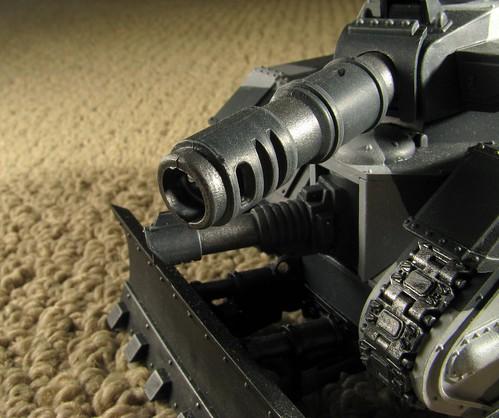 Leman Russ tank: gun barrel