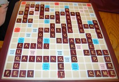 New Game :) What does a Scrabble game yo by garlandcannon, on Flickr
