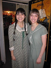 Martha and Ilse in green!