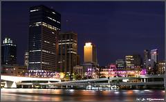 Brisbane by Night (danishpm) Tags: panorama skyline canon river eos australia brisbane southbank nighttime qld queensland aussie aus afterdark 1855mmkitlens eos450d 450d sorenmartensen