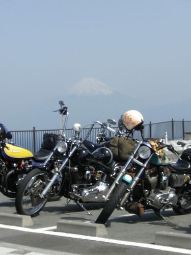 Mt. Fuji with bikes