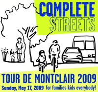 Tour de Montclair 2009 button