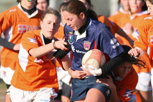 Barbara Nizzi, centro della Red&Blu Roma Rugby - foto Fama