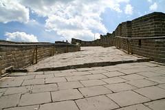 八達嶺 (supermow) Tags: world china brick heritage stone wall asia beijing twist unesco east greatwall badaling steep incline