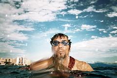 , (Benedetta Falugi) Tags: analog film pelicola nikonawaf 35mm fujisuperia 400iso subbbacquea lu shootingwithlu waterjaguar benedettafalugi summer sea beach wwwbenedettafalugicom believeinfilm analogphotography
