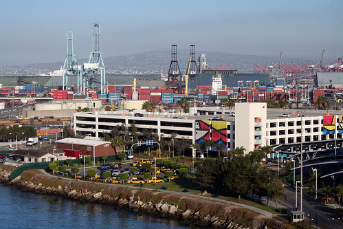 Long Beach Cruise Terminal - Parking Garage