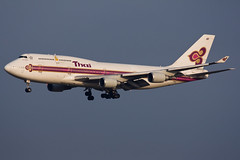 Boeing 747-4DT Thai Airways (HS-TGN)
