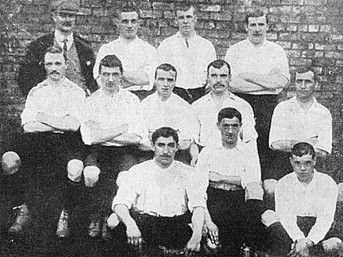 Newton Heath 1901/02 team photograph