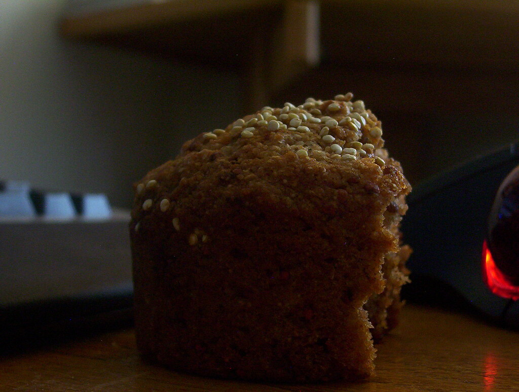 Rooibos quinoa whole wheaty canola chai vegan bready muffins 008