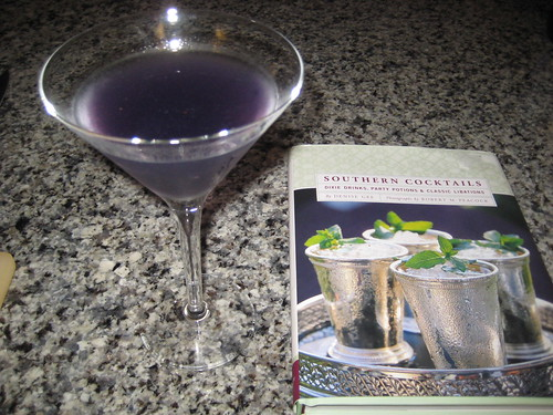 blueberry martini, photo by Jason Adams, on Flickr