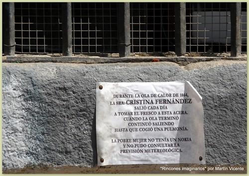 Calles de Madrid: en la plaza de las Comendadoras