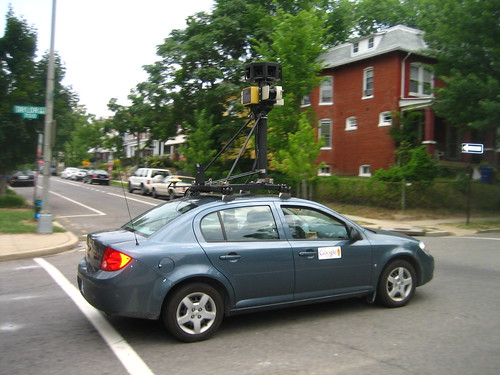 Petworth got Google Street View'ed today!
