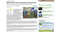 Walmart Announces a Sustainable Product Index - Walmart Green Products - thedailygreen.com_1248431373389