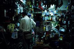 2009.07.18 Taichung (Lordcolus) Tags: people color film downtown market kodak snapshot taiwan slide bitch taichung 台灣 台中 leicam6 e100g 黑店 minoltadimagescanelite5400 carlzeisscsonnart1550zm 建國市場 台中市區