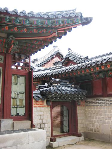 Gyeongbokgung Roofs