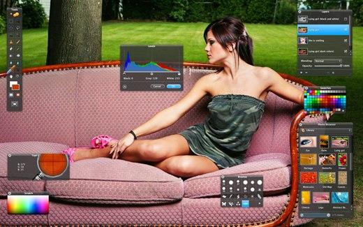 Pixelmator fullscreen