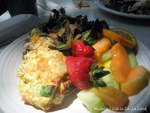 Madison Square & Garden Cafe- California Omelette