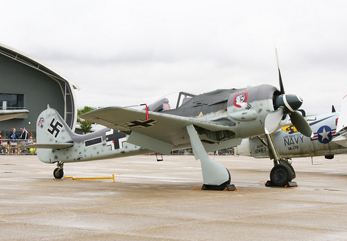 Warbird picture - G-FWAB (Fw-190 replica)