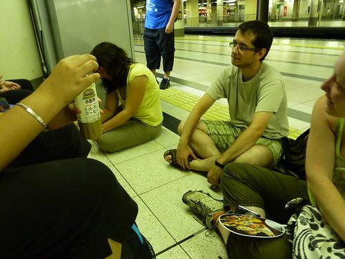 Matando el tiempo hacia Kusatsu Onsen