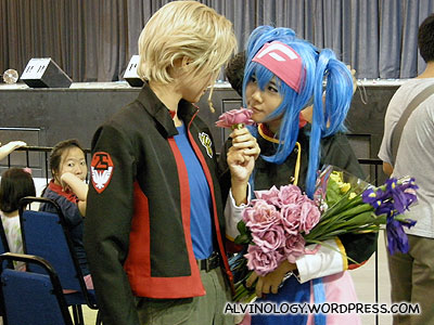 Cosplay couple