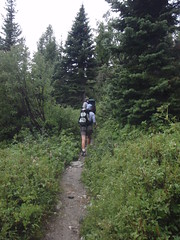 Starting up Cascade Canyon (audrey_hagen) Tags: tetons cascadecanyon paintbrushcanyon