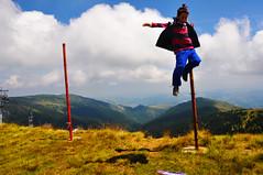 fly high (my lala) Tags: boy mountain high jump child serbia srbija kopaonik serbien pancicevvrh