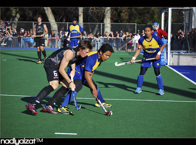 Hockey-Malaysia vs New Zealand