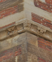 Jester or greenman (andrea.t.loughry) Tags: cambridge england face jester gargoyle stjohnscollege grotesque greenman