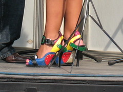 Lina Marie's Shoes of Many Colors