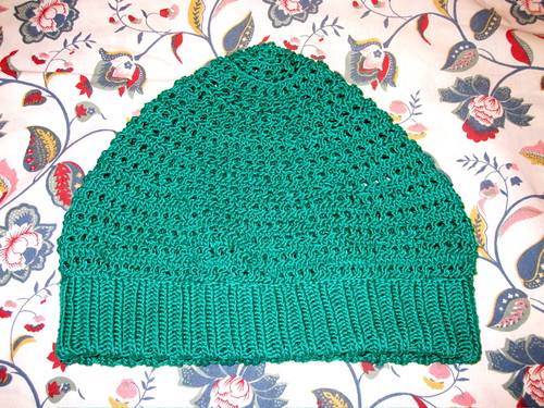 Vogue Knitting Eyelet Cap