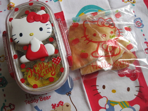 Hello Kitty bento 9.11.09