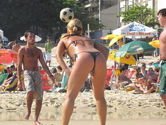 Hot Girl on Ipanema Beach (benyeuda) Tags: ocean sea brazil beach southamerica water rio riodejaneiro sand atlantic thong hotchick atlanticocean beautifulbeach ipanema hotgirl beachscene tropicalbeach ipanemabeach riobeach goldensand dejaneiro