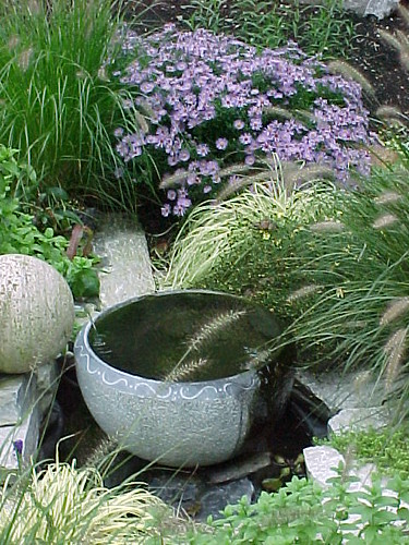 Garden Art - Bowl Water Feature